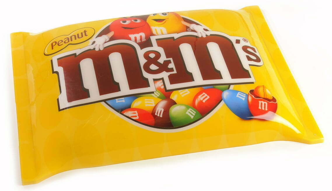 M&M's point of sale