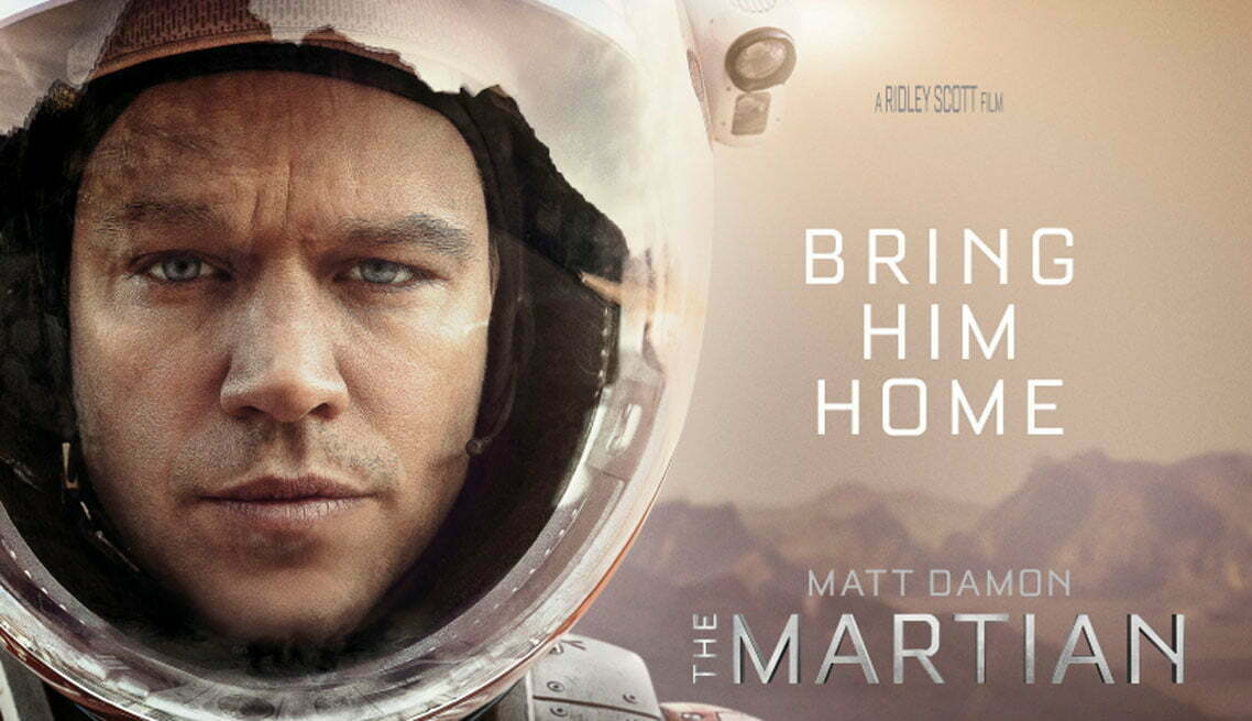 The Martian sets and props